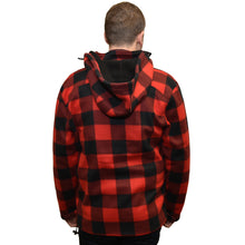 Mens Lumber Jacket with Hood