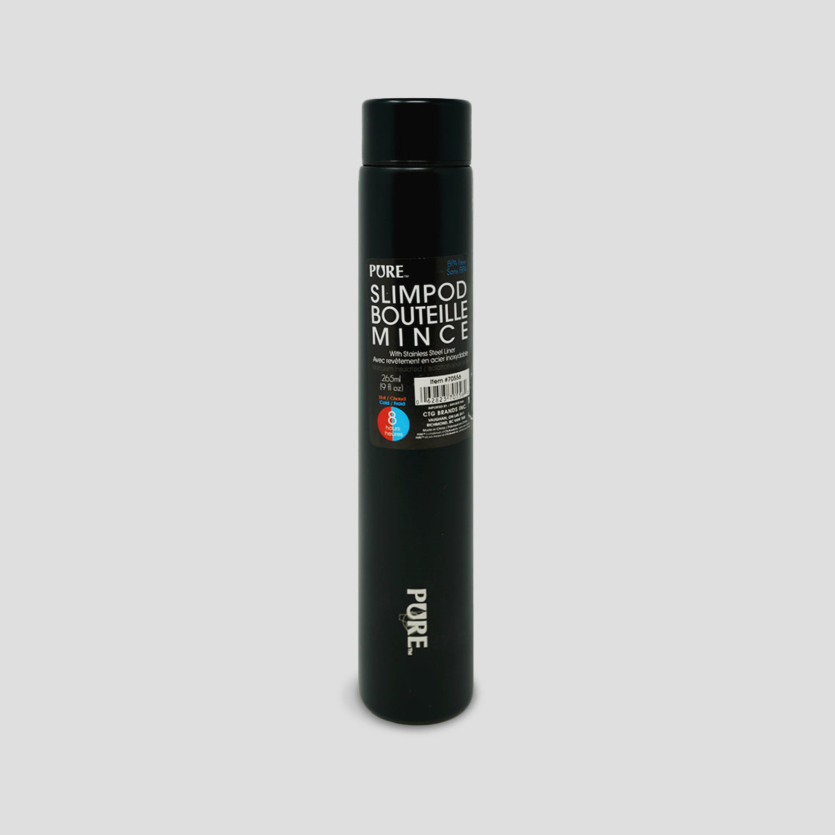 PURE Slimpod Thermal Bottle