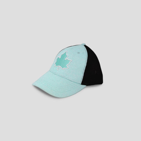 Leaf Patch Mesh-back Ball Cap