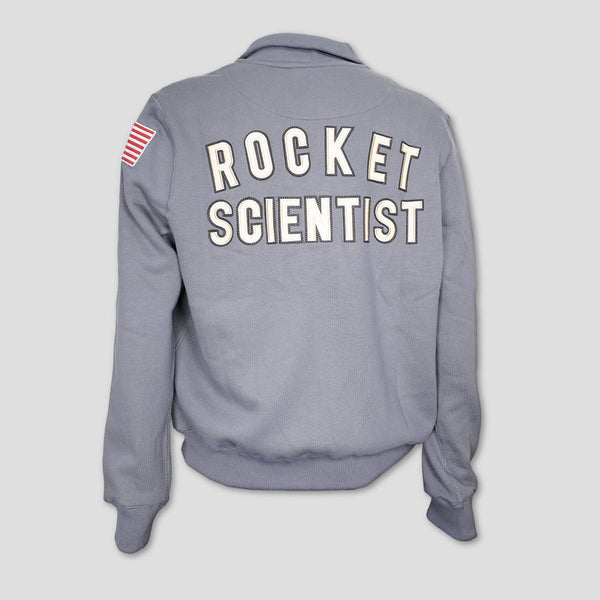 NASA Rocket Scientist Zip Sweater