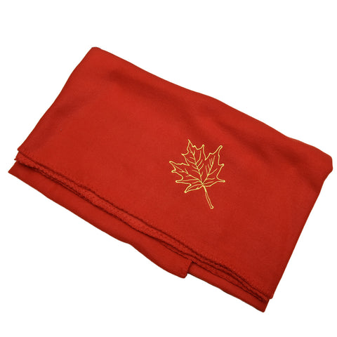 Red Canada Fleece Blanket