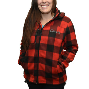 Ladies Lumberjacket with hood