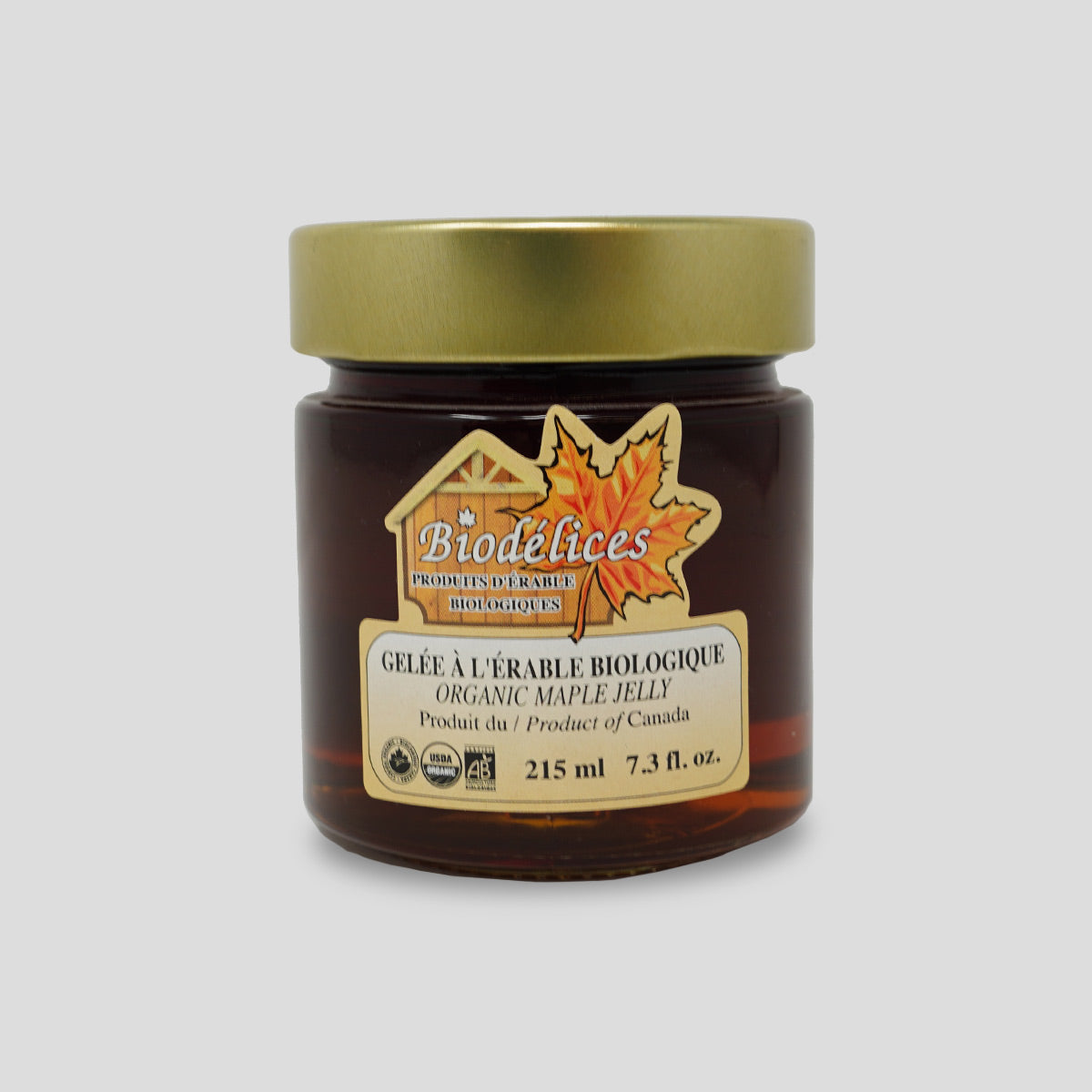 Organic Maple Jelly