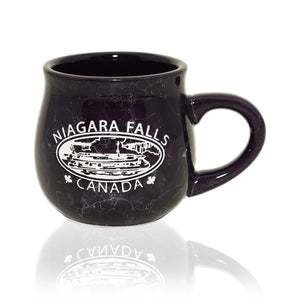 """Niagara Falls"" Purple Hornblower Bubble Mug"