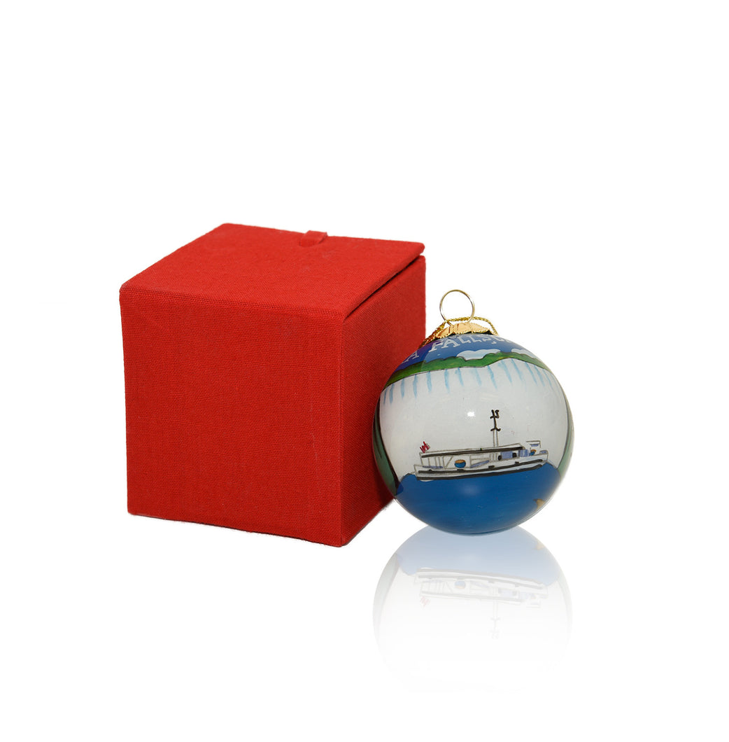 Christmas Ornament - Hornblower Niagara Cruises