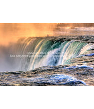 Colourful Horseshoe Falls