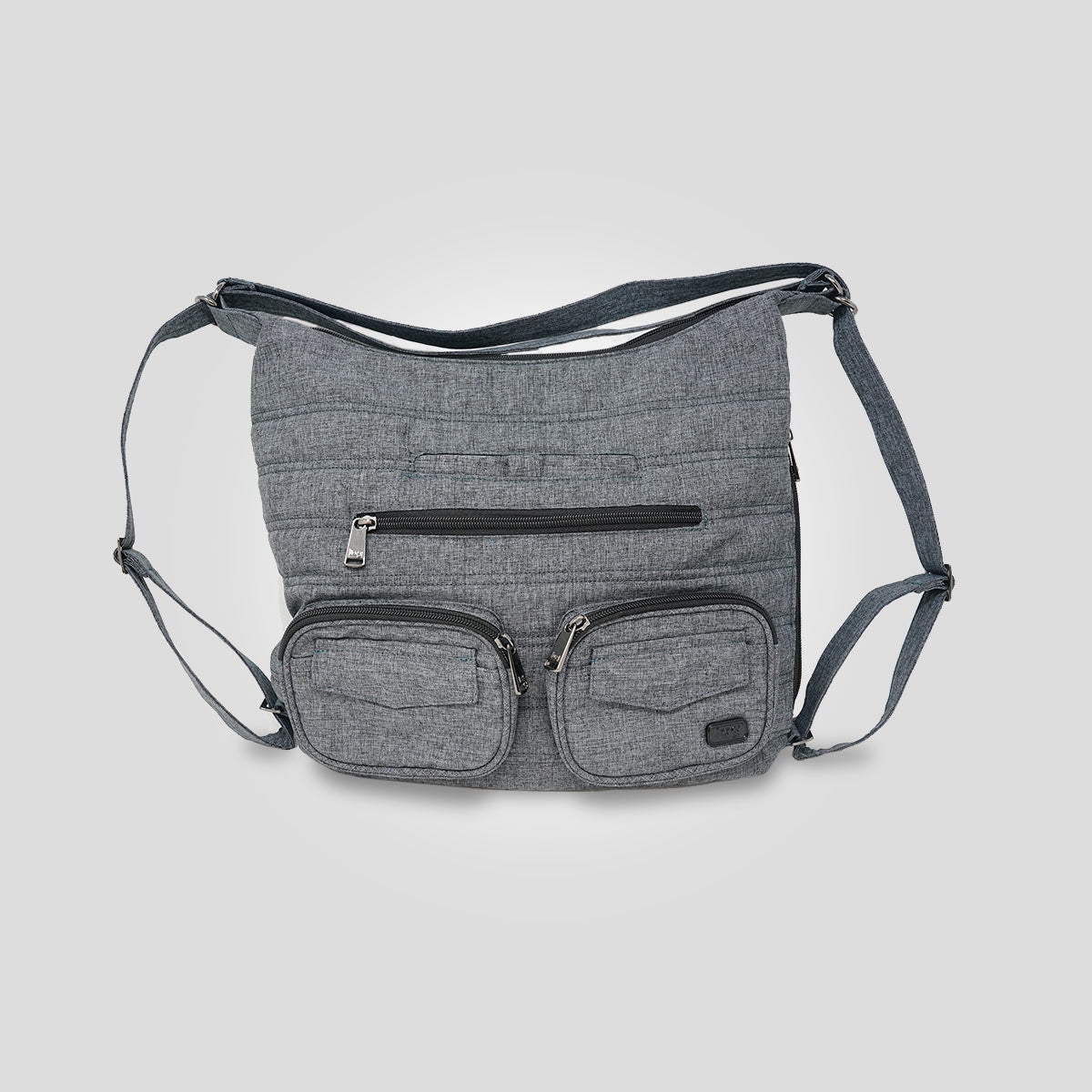 Zipliner Bag - Heather Grey