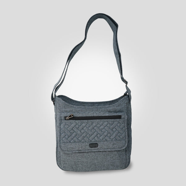 Hopscotch Crossbody Bag - Heather Grey