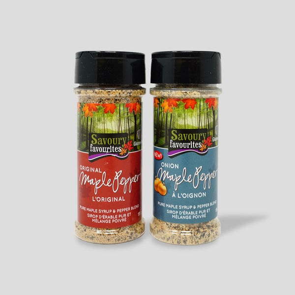 Maple Pepper Spice Blends Gift Box