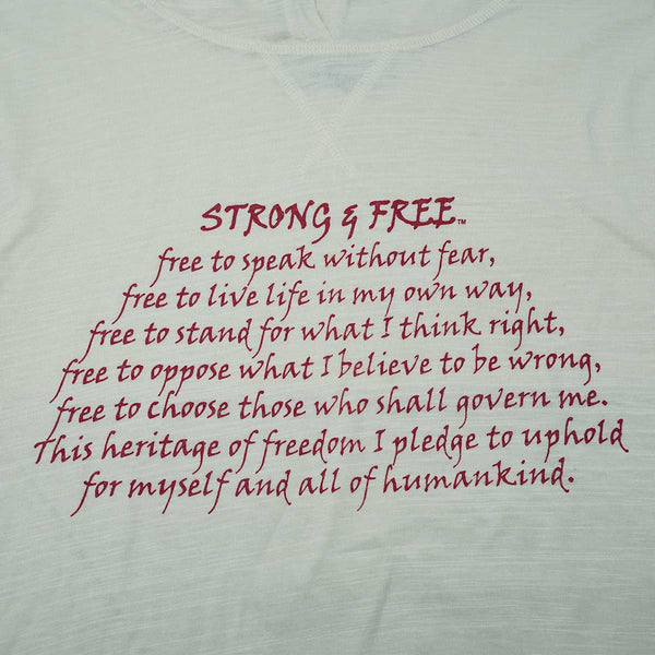 Strong & Free All-season Hoodie