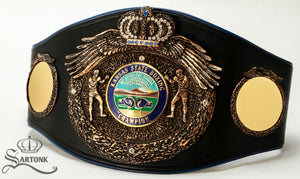 JAB Promotions and SARTONK Release Kansas State Championship Belt