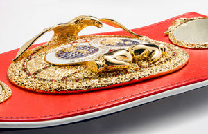 The International Boxing Federation's World Champion Belt - IBF Eagle