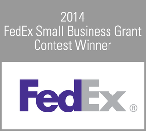 Winner of the FedEx Small Business Grant Award