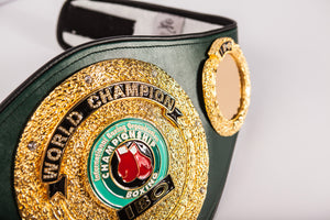 The International Boxing Organization's World Champion Belt - Details