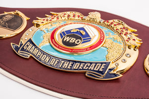 "World Boxing Organization's ""Champion of the Decade"" Belt"