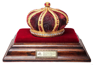 Replica of Muhammad Ali's retirement crown