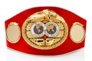 The International Boxing Federation's World Champion Belt