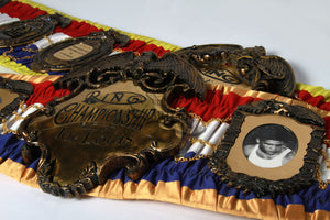 Ring Magazine Championship Belt Replica
