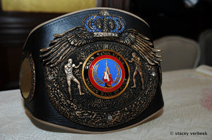 New York State Boxing Hall of Fame Induction Belt