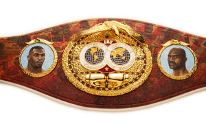 Special Collaboration - International Boxing Federation Championship Belt