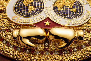 International Boxing Federation Championship Belt - Mirror-polished Gloves