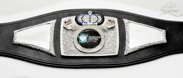 "©SARTONK. Barclays Center ""Brooklyn's World Champion Belt"" designed by SARTONK. Photo Credit: Lourenso Ramautar"