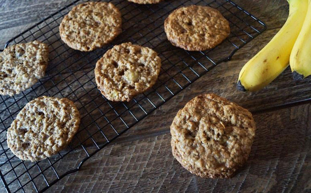 Banana Oatmeal S'mores Cookie