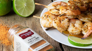 Fiesta Chili Lime Grilled Shrimp