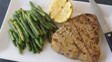 Garlic Butter & Herb Tuna Steaks