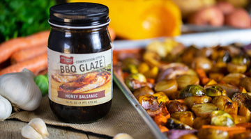 Honey Balsamic Roasted Fall Vegetables