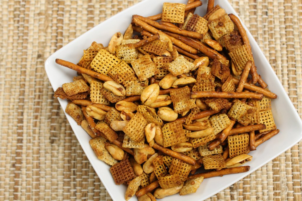 Hot & Spicy Chex Party Mix