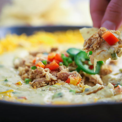 Hatch Chili White Chicken Queso
