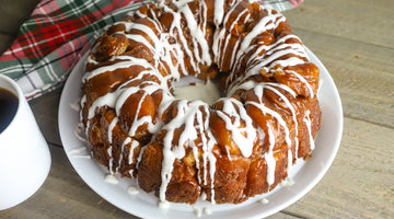 Frosted Monkey Bread