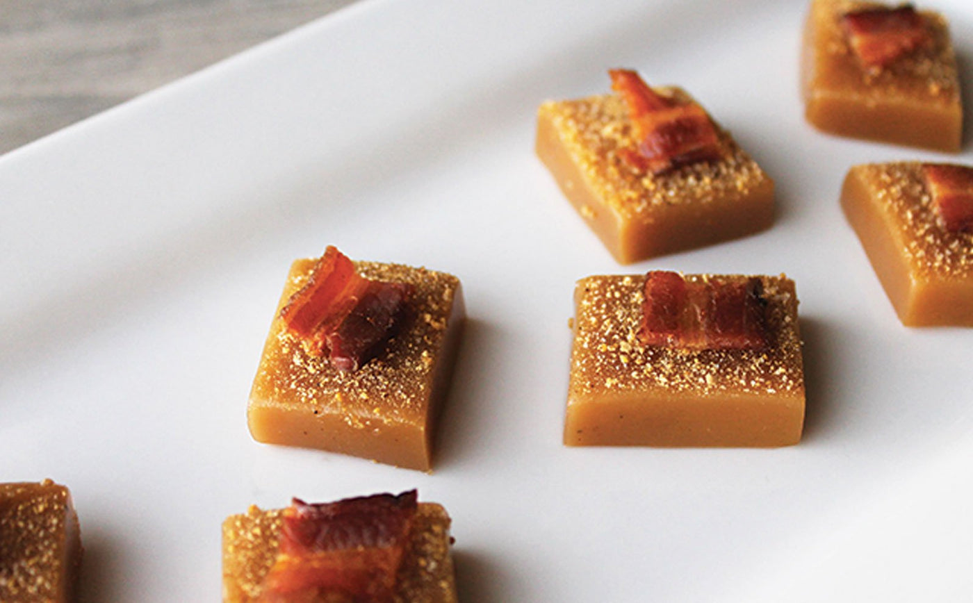 Maple Bacon Caramels