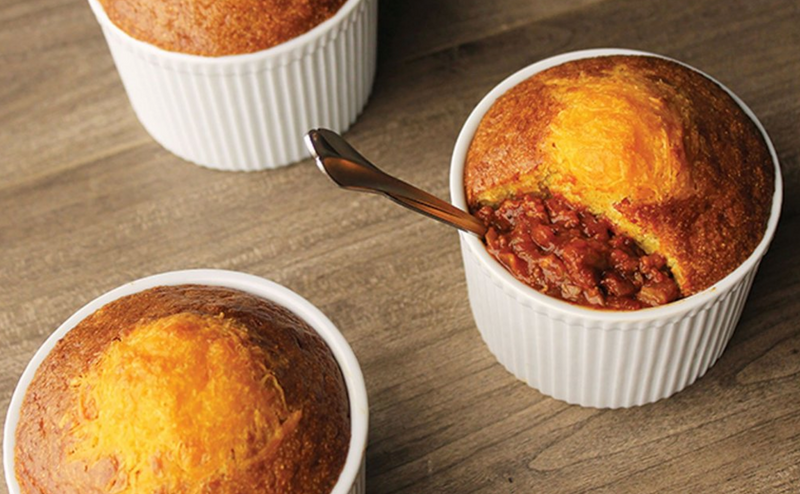 Fireman's Chili Pot Pies