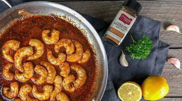 Spicy Carolina Reaper Shrimp