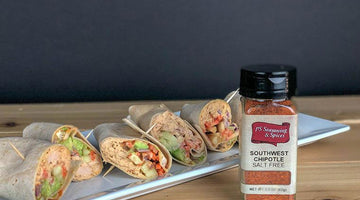 Spicy Chipotle Tuna Wraps