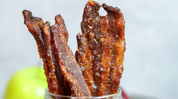 Apple Pie Candied Bacon