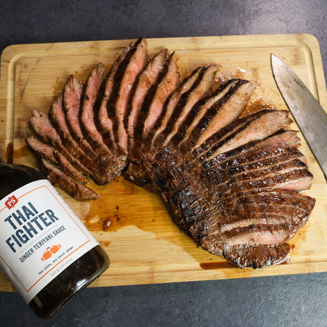 Ginger Teriyaki Flank Steak