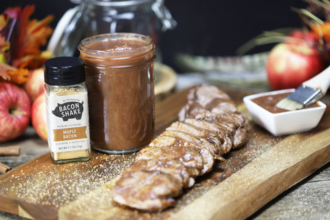 Maple Apple Butter Pork Tenderloin