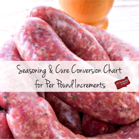 Recipes Sausage Making Tagged Conversion Chart Ps Seasoning