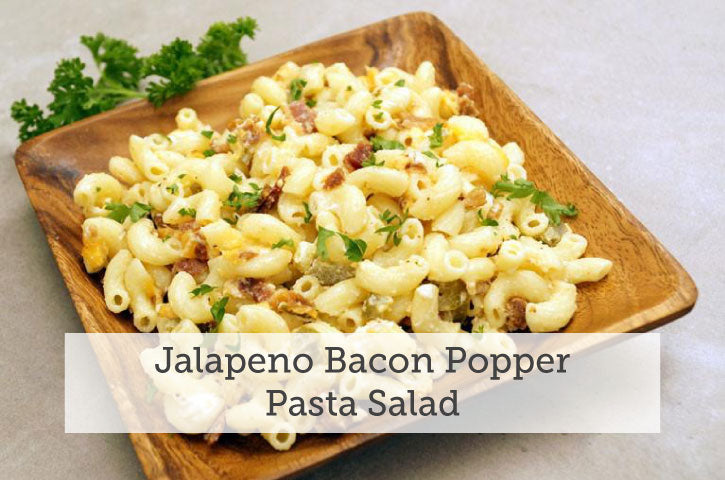 Jalapeno Bacon Popper Pasta Salad
