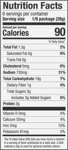 PS Seasoning Fireman's Chili Mix Nutrition Facts
