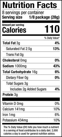 PS Seasoning Grilled Cheese Tomato Soup Mix Nutrition Facts