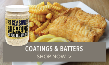 Coatings & Batters - PS Seasoning & Spices