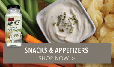 Snacks & Appetizers - PS Seasoning & Spices