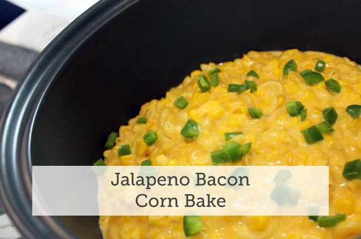 Jalapeno Bacon Corn Bake