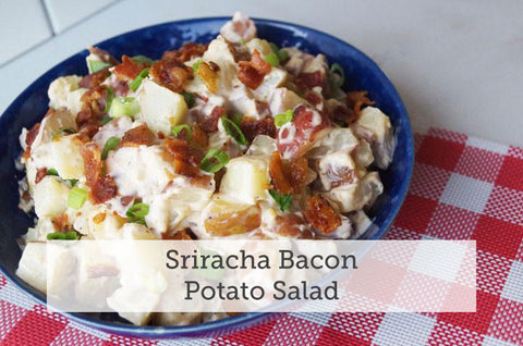 Sriracha Bacon Potato Salad