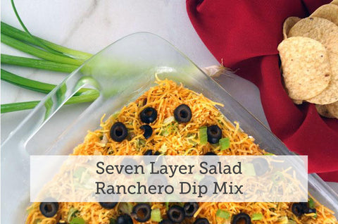 Seven Layer Salad Ranchero Dip Mix