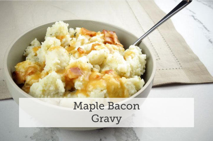 Maple Bacon Gravy Recipe